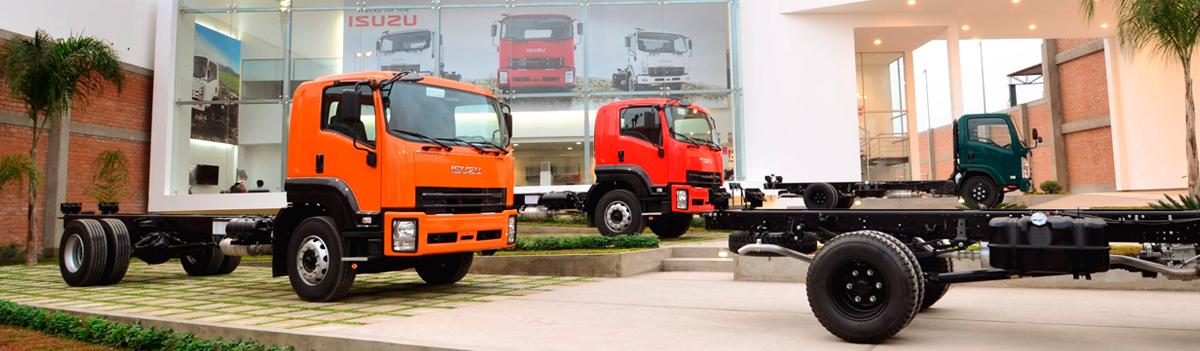 Camiones Serie-F en concesionaria
